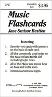 Bastien Music Flashcards GP27