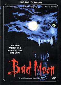 Bad Moon , 100% uncut , DVD , Region free , new and sealed , Werewolf