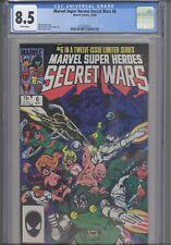 Secret Wars #6 CGC 8.5 1984 Marvel Comics Jim Shooter Story: New Frame