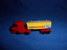 Mini TANKER TRUCK Airport Vehicle JET FUEL Tank Refueler Plastic Kinder Surprise