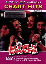 Sunfly Karaoke DVD Chart Hits Vol.17 (DVD) - DIRECT FROM SUNFLY