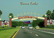 MAGNET  Travel Disney World Entrance Orlando Florida