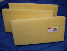 Spare sponges pack 3 for washboy sponge float 280 x 140mm 30mm thick German made