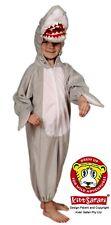 *NEW* Kids Safari Plush Full Body Hooded Shark Costume