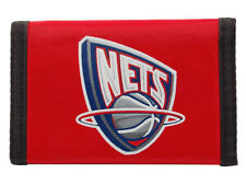NEW JERSEY NETS NBA LICENSED NYLON TRI FOLD WALLET