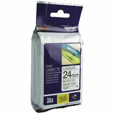 Brother P-Touch 24mm Black on White TZE251 Labelling Tape [BA8119]