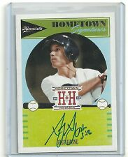 2013 Hometown Heroes, Greg Gagne, Hometown Signatures Auto