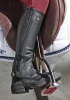 Mountain Horse Soft Rider Leggins Leather Half Chaps Gaiters NEW