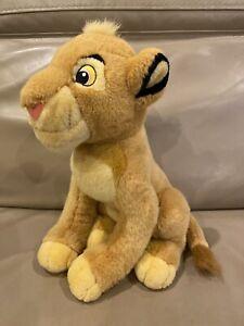 "Lion King Disney Store Exclusive Young Baby Simba 14"" Plush Stuffed Animal"