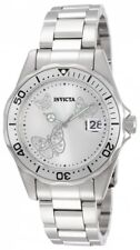 Invicta 12503 Women's Pro Diver Silver Dial Steel Bracelet Watch