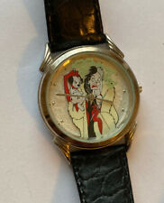 CRUELLA de Vil 101 Dalmatians Limited Edition VILLAINS Walt Disney Wristwatch