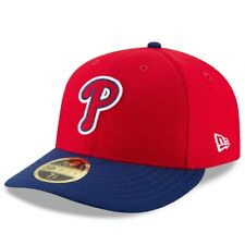 Philadelphia Phillies New Era Red Navy Diamond 59FIFTY Fitted Hat Cap 7 5/8 NWT