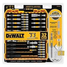 32-Piece DEWALT MAXFIT Magnetic Screwdriving Set Drill Driver Bits w/ Screw Lock