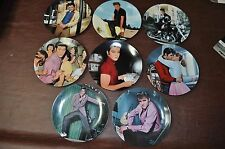 Elvis Young And Wild Plate Collection Complete Set
