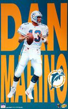 Rare DAN MARINO Miami Dolphins c1997 Vintage Original Starline NFL Action POSTER