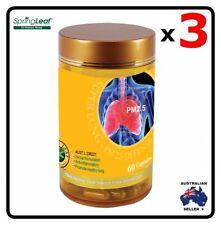 3x Homart Springleaf Super Lung PM 2.5 Defense 60 capsules