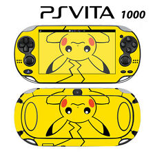 Vinyl Decal Skin Sticker for Sony PS Vita PSV 1000 Pokemon Pikachu 2