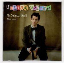 (GJ33) Julian Velard, Mr Saturday Night sampler - 2010 DJ CD