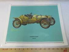 1910 Mercer Car Speedster C Print Picture Laminated 13x16 Auto Advertisement