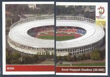 PANINI EURO 2008- #014/015-WIEN-ERNST-HAPPEL-STADION-CAP 50,000