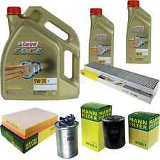 Inspektionskit Filter Castrol 7L Oil 5W30 for Seat Alhambra 7V8 7V9 1.9