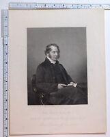 C1880 Antiguo Estampado ~ Henry Montagu Villiers Señor Obispo De