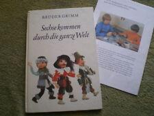 Sechse kommen durch die ganze Welt - Brüder Grimm DDR Märchenbuch mit Beilage