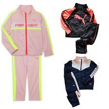 NWT PUMA Girls 2-Piece Tracksuit Set Jacket/Pants SELECT SIZE & COLOR