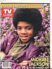 TV Guide Magazine 2009 Michael Jackson Tribute EX 040317nonjhe