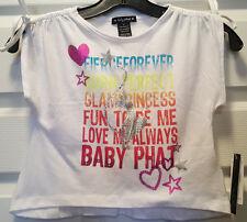Baby Phat Girls Embelished Artwort Tshirt Size 4 Retail $26.00 BNWT BLING