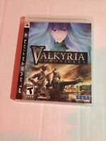 Valkyria Chronicles (Sony PlayStation 3, 2008) CIB Tested & Fast Ship