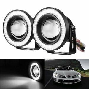 """2x 3.5"""" Tagfahrlicht Eagle Eye Universal Motorrad Auto Nebelscheinwerfer LED 12V"""
