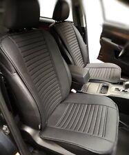 2pcs Bamboo Charcoal PU Leather Auto Car Seat Cover Cushion  Breathable