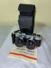 Fedboy Stereo Camera 35mm with case