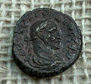 Claudius 11 Gothicus B1 Tetradrachm Alexandria Egypt Very Fine L9