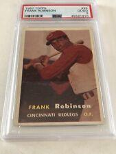 1957 Topps Frank Robinson #35 PSA 2 Good Rookie Cincinnati Reds