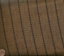Round Up Flint brown Michael Miller stripe fabric