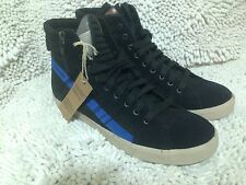D-String Fashion Diesel Shoes Men New Size 10 Anthracite/ Nautical