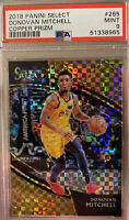 2018 Panini Select Courtside Copper #265 49/60 Donovan Mitchell Jazz PSA 9 MINT