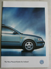 VW Passat Estate range brochure Nov 1997 Irish market