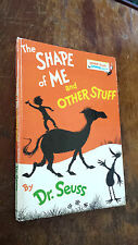 THE SHAPE OF ME AND OTHER STUFF seuss BEGINNER BOOK BB-16 hardcover 1974