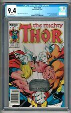 "Thor #338 (1983) CGC 9.4  White Pages  Simonson ""Beta Ray Bill""  ""NEWSSTAND"""