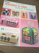 Bright & Fun Tissue Toppers Leaflet  Plastic Canvas The Needlecraft Shop