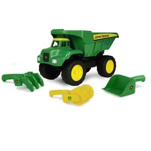 """TOMY John Deere 15"""" Big Scoop Dump Truck with Sand Toys LP64760 / 46510"""