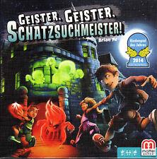 Geister, Geister, Schatzsuchmeister - Brian Yu - Mattel - Brettspiel - Neu + OVP