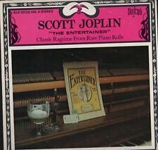 "Scott Joplin – ""L' artiste"" Classic Ragtime biograph LP Vinyle HL2.345"