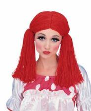 Rubies Rag Raggedy Ann Doll Wig Adult Womens Halloween Costume Accessory 50825