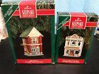HALLMARK NOSTALGIC HOUSES & SHOPS--1993 & 1995--IN BOXES----------------mc