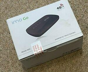 IMO GO - VERVE CONNECT -4G - LTE - Black -Mobile WiFi Hotspot