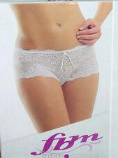 culotte linea sposa FBM raffinata seduzione Tg 4 colore bianco in pizzo pregiato